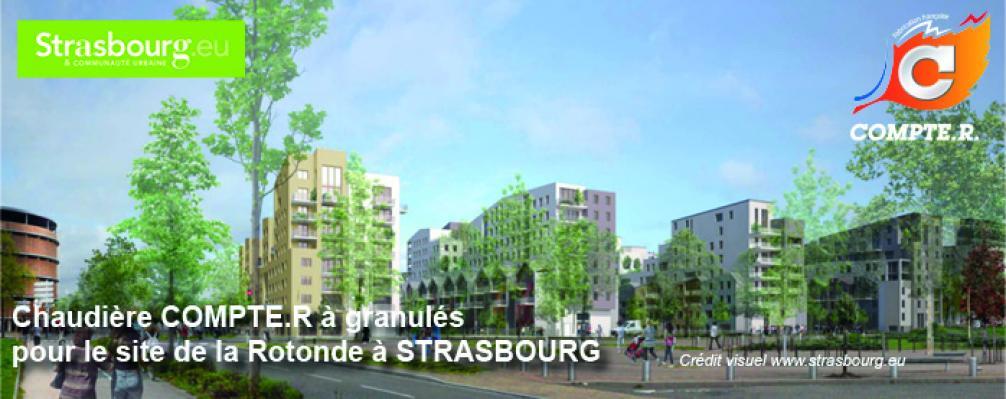 chaudi re biomasse pour le site de la rotonde a strasbourg compte r. Black Bedroom Furniture Sets. Home Design Ideas