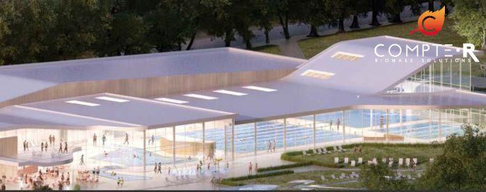 la chaudi re biomasse pour nouveau centre aquatique compte r. Black Bedroom Furniture Sets. Home Design Ideas